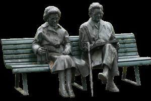 Gehstock alt senioren bank , Partnerschaft und Liebe im Alter