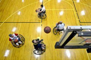 basketball rollstuhl behinderung sport