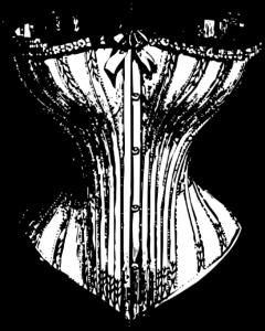 Korsett damen kleidung