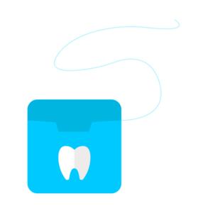 Zahnseide Interdentalbürste
