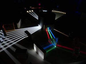 spektralfarben licht wellenlänge regenbogen raum Rotlichtlampe