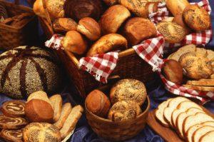 Brot brötchen kohlenhydrate frühstück essen büro diät büro-diät