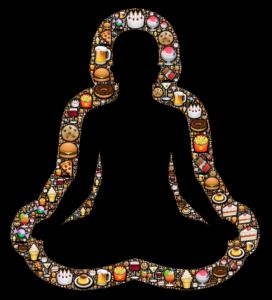 yoga buddah hunger hungrid diät essen fastfood apettit abnehmen gewichtsverlust verzicht
