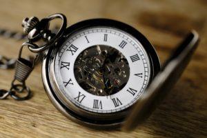 Uhr Zeit innere