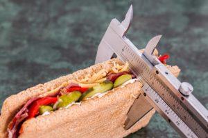 Ernährungsberatung Sandwich essen gewicht abnehmen kcal