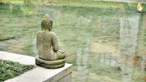Zen Buddhismus China Meditieren Meditation Statue Geschichte Alt