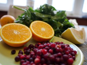 Vitamin B5 - Pantothensäure preiselbeeren orange