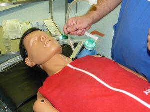 Vollnarkose Anästhesie Operation Beatmung Dummy Puppe Ausbildung