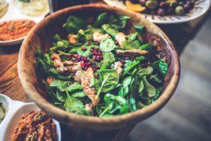 Vitamin B9 - Folsäure Salat blattgemüse