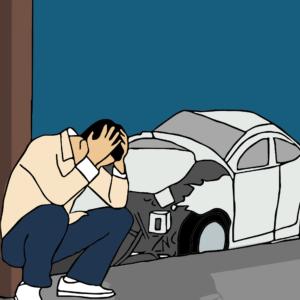 autounfall , geschwindigkeit , schockiert , überleben , versicherung erste hilfe am unfallort unfallstelle verletzte