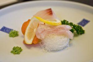 sashimi , wasabi , zitrone , platte , restaurants , snacks , sushi , zeit , japanisch , essen