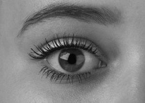 blick , auge , algen , mädchen , schwarz und weiß , schwarzweiß-foto , das foto-shooting , ein , schattierung , augenbrauen , foto , dame , young , gesicht , version , weiches licht , schulkamerad , schwarzweiß-fotografien , makro-fotografie , make-up , kopf , porträt