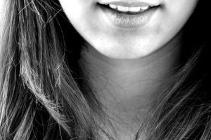 lächeln , lachen , mädchen , zähne , mund , kinn, lippen, haare, kind, mädchen, lächeln