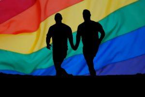 homosexualität , regenbogen , mann , homosexuell , schwul , partner , freundschaft , hände , herz , liebe , glück , abstrakt , beziehung , danke , gruß , grußkarte , postkarte , hintergrund , himmel , valentinstag , romantik , romantisch , treue , zärtlich , zärtlichkeit , zuneigung , valentin , glücklich
