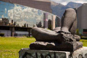 frau , skulptur , sexualität , stein , statue