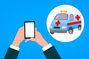 ambulanz , auto , anwendung , anruf , versicherung , wohnung , notfall , konzept , medizinische , symbol , pflege , mobil , hand , anmelden , kommunikation , telefon , halten , design , smartphone , hilfe , unterstützung , gesundheit , service, Ambulater Pflegedienst, Ambulate Pflegedienst