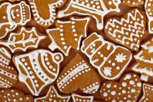 keks , brown , weihnachten , cookie , cookies , dekoration , lecker , lebensmittel , lebkuchen , gruppe , urlaub , puderzucker , saisonale , formen , imbiss , süß , traditionellen , winter , Zarte Versuchung Lebkuchen zu Weihnachten