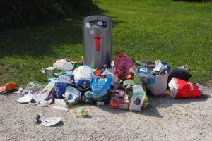 Warum so viele Lebensmittel auf den Müll? mülleimer , müll , umweltverschmutzung , abfall , abfalleimer , mülltonne , müllentsorgung , wegwerfgesellschaft , umweltschutz , umweltschmutz , entsorgung , abfälle , müllcontainer ,