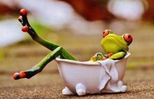 Sitzbad frosch , badewanne , baden , entspannung , entspannen , lustig , körperpflege , figur , spaß , niedlich