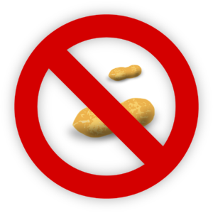 erdnuss , allergien , lebensmittel , allergen , reaktion , anmelden , icon , intoleranz , vermeiden , ernährung , symbol , allergene anaphylaktischer Schock anaphylaxie