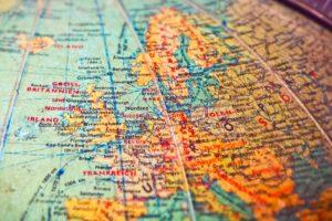 globus , landkarte , karte , länder , grenzen , alt , staaten , ländergrenzen , kontinente , reisen , welt , europa , vintage , retro , trödelmarkt , orte , atlantik , england , ddr, Europäer