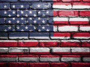 flagge , vereinigte staaten , amerika , wand , lackiert , american , usa flagge , vereint , staaten , symbol , nationalen , streifen , amerikanische flagge hintergrund
