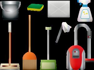 reinigungsmittel , vakuum , besen , staubtuch , schwamm , eimer , mop , dienstmädchen , teppich , sauber , hausmeister , reiniger , lästige pflicht , haushalt , pinsel , boden , abstauben , staubsauger , schmutz , hausarbeit , frühjahrsputz