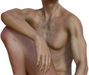 mann , akt , nackt , erotisch , körper , männlich , nackter oberkörper , erotik , brust , mensch , figur , aktfotografie , tube , oberkörperfrei , posing , teilakt , muskeln , freigestellt, Gynäkomastie, Brustwachstum, Männerbrust, Männerbusen
