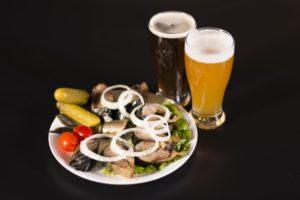 bier , fast food , fisch und fleisch, Histaminintoleranz / Histaminunverträglichkeit