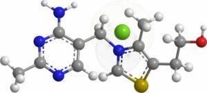 thiamin , stickstoffbasen , organische chemie , moleküle , 3d, Vitamin B1