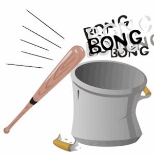 Misophonie , baseballschläger, bong, geräusche, hören, , ausdrücke françaises , faire du bruit , faire du potin , lärm machen , lärm , topf,