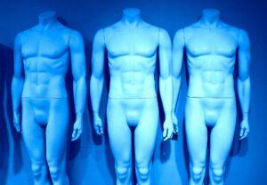 schaufensterpuppe , körper , kopflos , person , personen , nackt , mensch , menschen , ausgezogen , figur , mann , arme , muskeln , figuren , statue , skulptur , anatomie , brustkorb