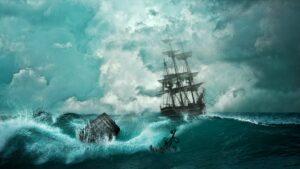 Skorbut, schiff , schiffbruch , abenteuer , untergang , boot , mystik , sturm , blau , tragödie , stimmung , naturgewalt , katastrophe , scheitern , welle , drama , emotion , alt , wrack , meer , ozean , wasser , natur ,