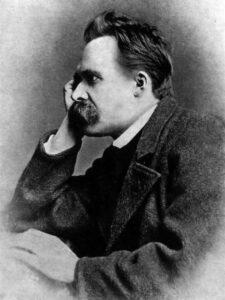 friedrich nietzsche , mann , portrait , 1882 , philosoph , schwarz-weiß