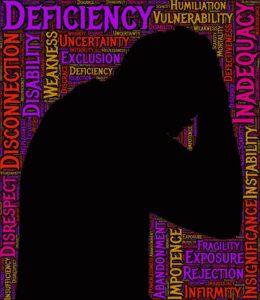 selbstzweifel , depression , vertrauen , psychologie , ansehen , außenseiter , identität , bewusstsein , angst , verwirrung , midlife-krise , psychiatrie , empathie , wert , druck , gesundheit , ausgeschlossen , zweifel , selbst , psychische , verwundbarkeit , schwäche , mangel , ablehnung , respektlosigkeit defekt , behinderung , unsicherheit , gebrechen , zerbrechlichkeit , schande