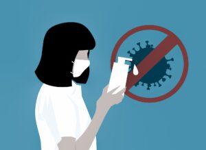 coronavirus , virus , sanitizer , waschen , hand , hygiene , infektion , krankenschwester , alkohol , gel , arzt , anti-bakterielle , bakterien , anschlag , pflege , gesundheit , grippe , corona , verhindern , schutz , sauber , maske , seife , covid-19 , selbst