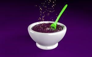 acai , euterpe oleracea , superfood , acaibeere , acai würfel , trockenfrucht , trockenfrüchte , acai beere, superfood, gesund, creme, süß, frucht