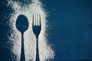 Forking, löffel , gabel , besteck , puderzucker , silhouette , essbesteck , essen , einladung , diät , abnehmen ,
