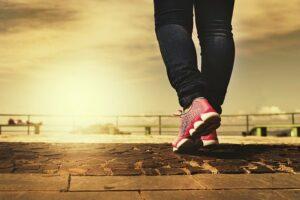 Füße, Gehen