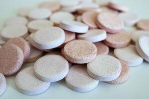 tabletten pills pillen vitamine wasserlöslich