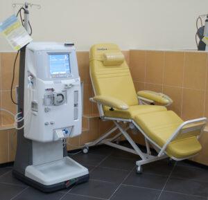 Dialyse, Hämodialyse, Dialysezentrum, Nierninsuffizienz, Nierenversagen