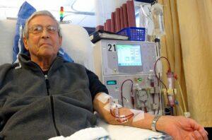 Dialyse, Hämodialyse, Blutwäsche, Blutreiningung, Nierninsuffizienz, Nierenversagen