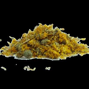 blumen , ringelblume , gelb , kräuter , blüte , getrocknet , gesundheit , pflege , kraut , tee , wellness , entspannung , abhilfe , heilmittel , kräuter und gewürze , traditionellen , Ringelblumenkraut (Calendulae herba), Ringelblumenkraut (Calendulae herba), Ringelblumenblüten – Calendulae flos